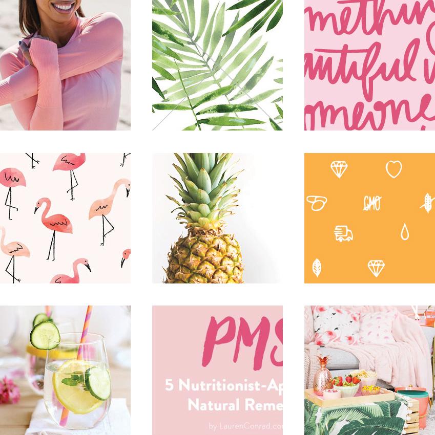 Jen Masson Brand Mood Board | Kiss Creative