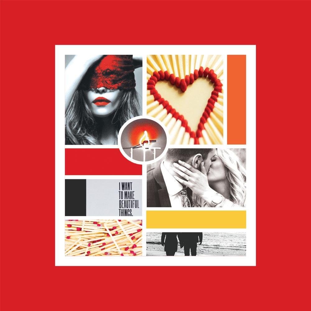 Strike Brand Mood Board | Kiss Creative