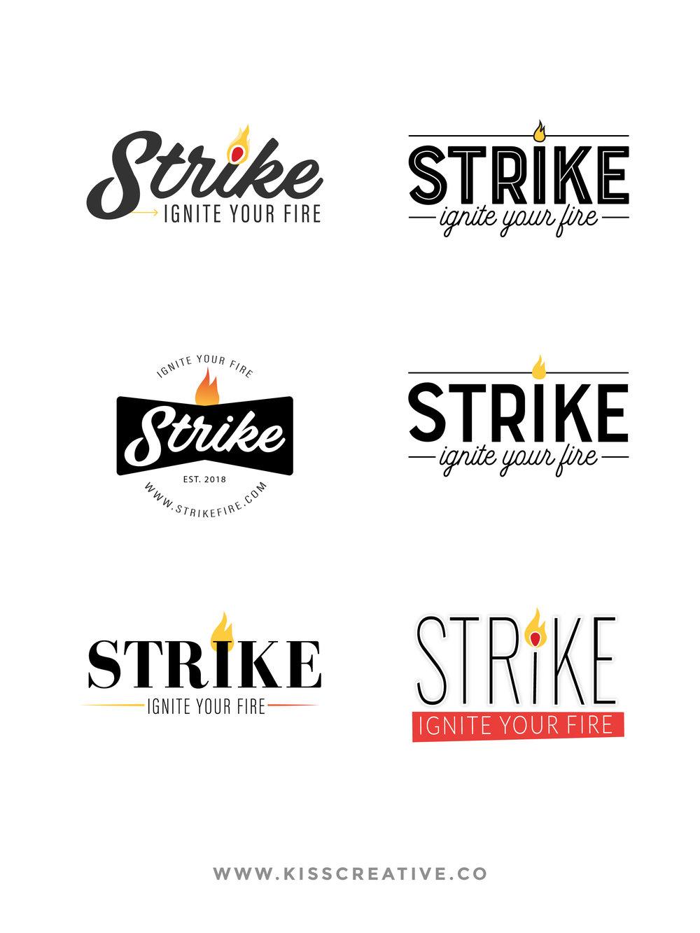Brand Debut | Strike Logo Concepts