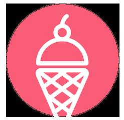 Bright, Fun, and Inviting Brand Icon