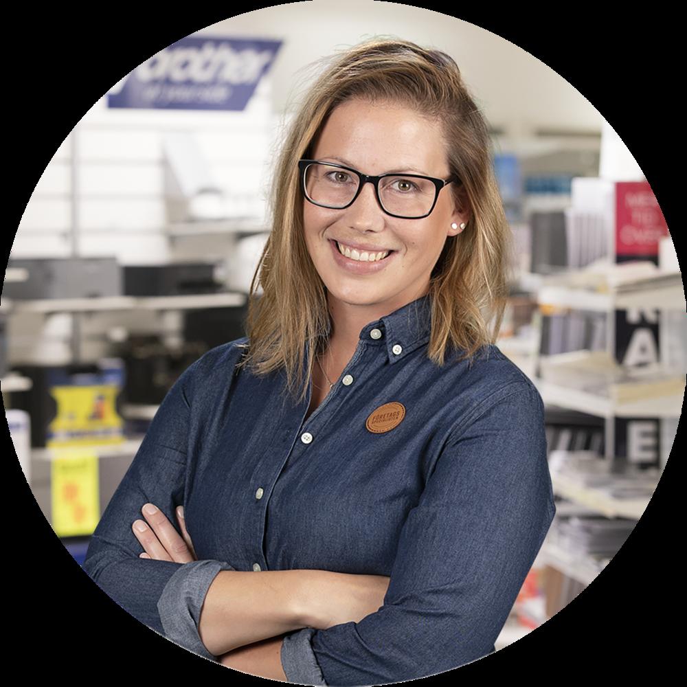 Sabina Björkman - Specialist på kontor & profilprodukterRing direkt: 0498-20 27 73sabina@foretagsspecialisten.se