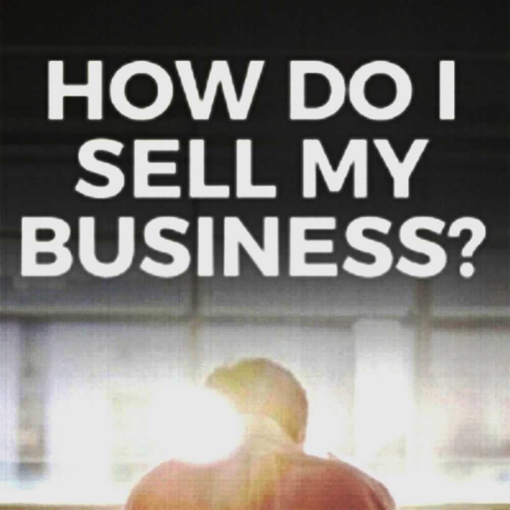 Business owner selling a business