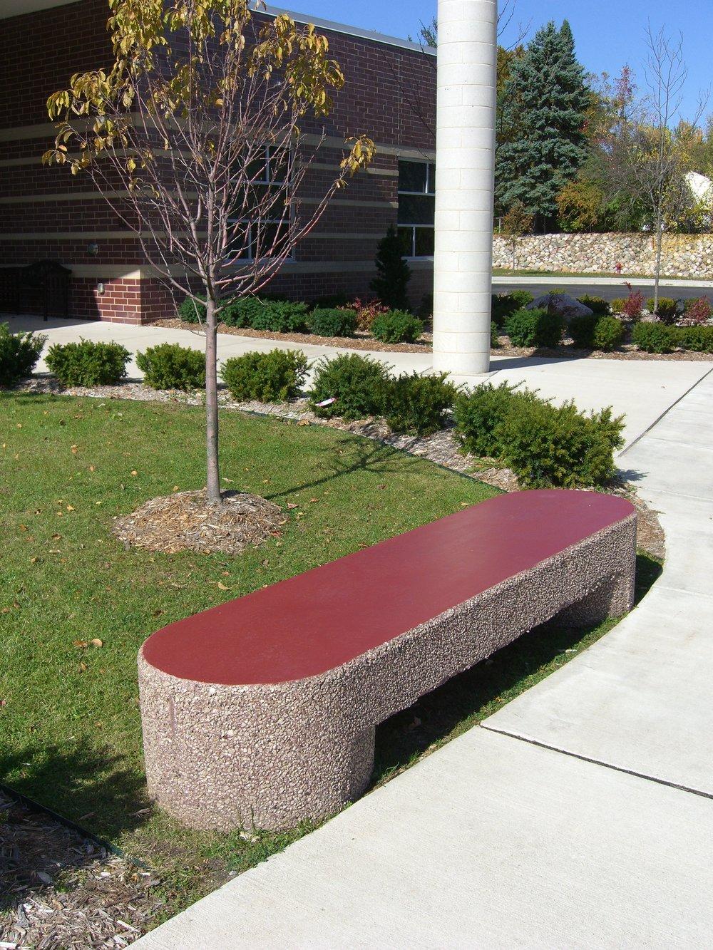 Sculptured Bench