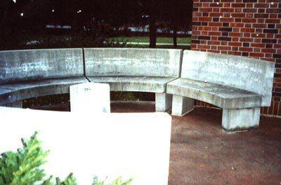 Half-Moon Bench