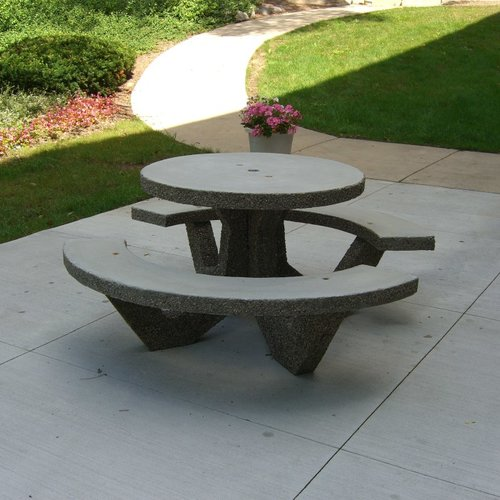 Precast Concrete Benches And Tables American Eagle Precast - Concrete picnic table forms