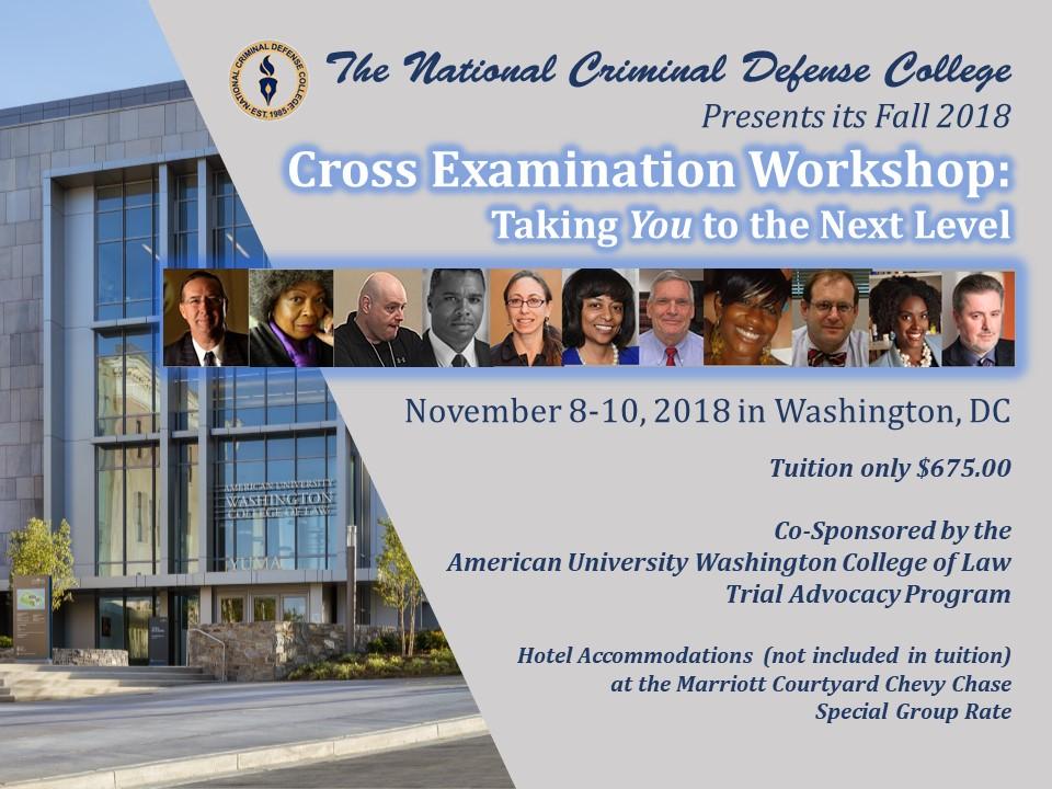 2018 11 09 Fall Short Program Cross Examination Flyer.jpg