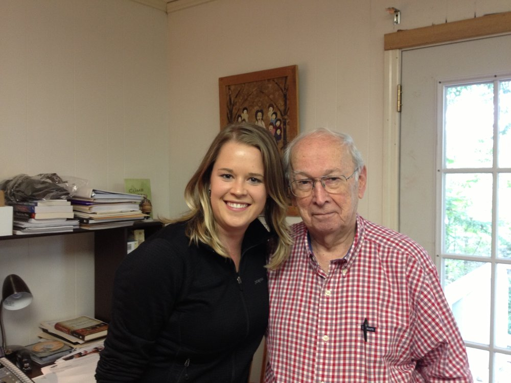 Dr. Fred Craddock, Cherry Log, GA, 2013