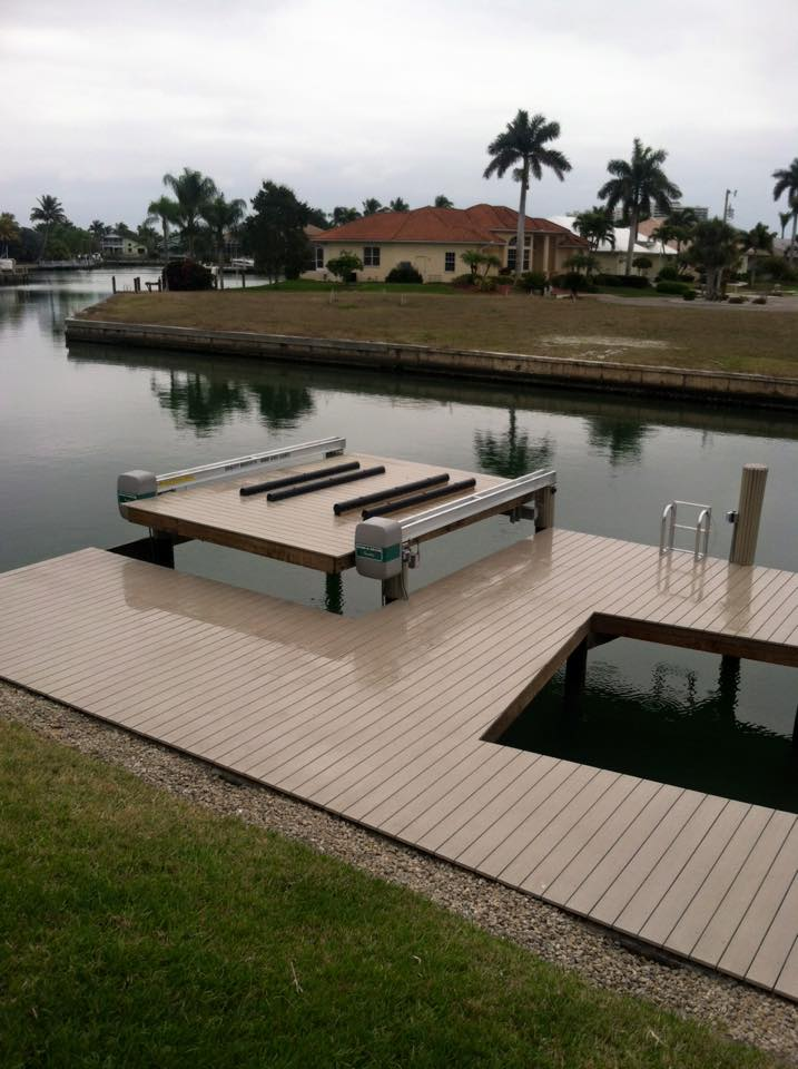 Custom Platform Boat Lift