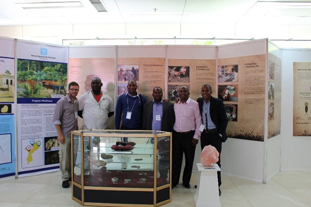 PalNiassa stand at the IX Congress of Geochemistry of the CPLP countries (Maputo, Mozambique).
