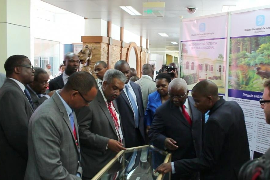 The stand was visited by the President of the Republic of Mozambique Armando Emílio Guebuza.