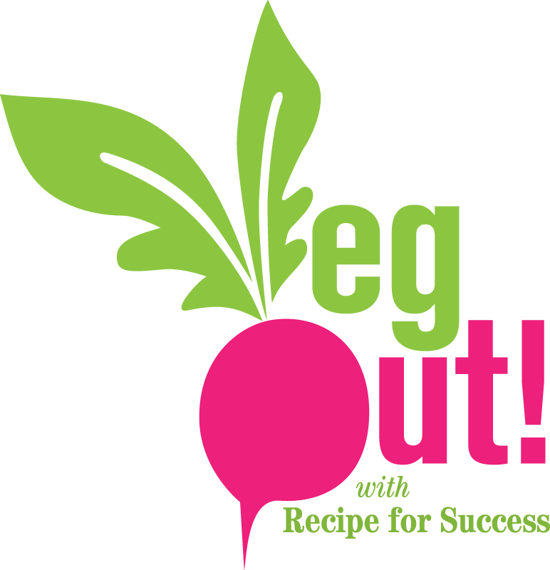 JVF celebrates the 2017 VegOut! challenge with a collection of special recipes. Click the VegOut! logo.
