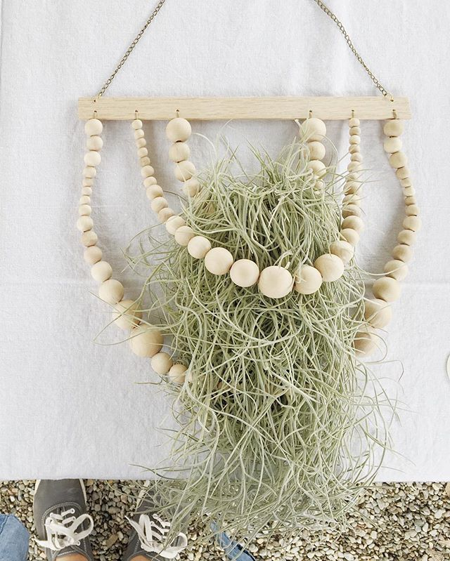 I'll be launching my online shop soon! The Living Wall Hanging Series will be available too including the Tides Living Wall Hanging w/Spanish moss ⚪️🌱✨