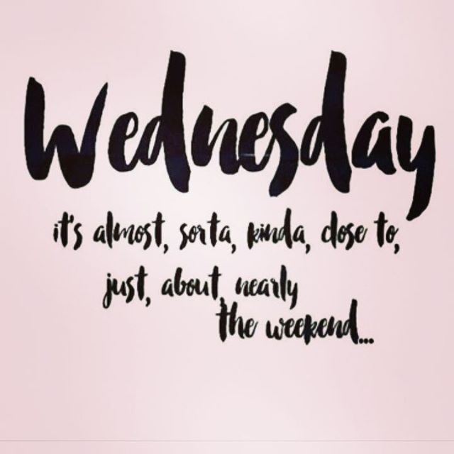 Have a great #humpday #wednesday