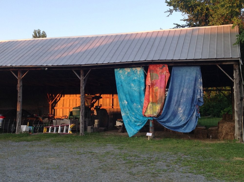 A Place In The Sun (barn swag)