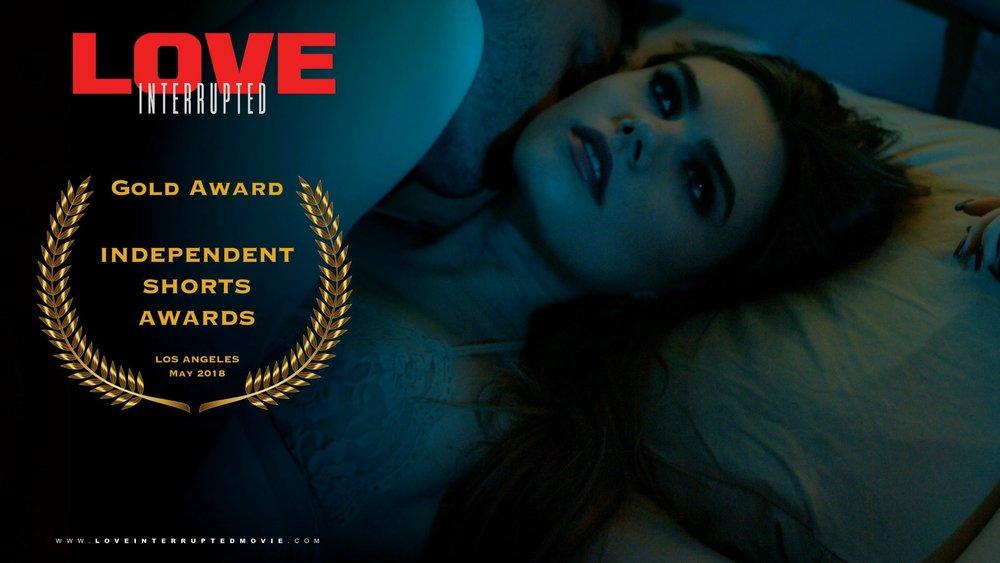 Gold Award winner for Best Indie Short.