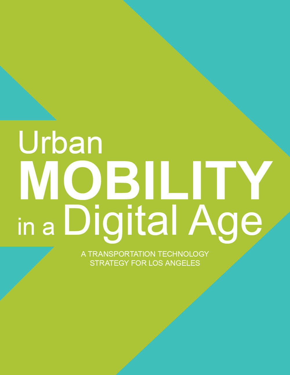 Urban Mobility in a Digital Age