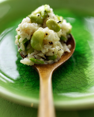 Brown Rice & Edamame from  Martha Stewart