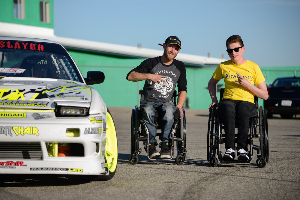 Support the Chairslayer Foundation - Together we can make a change. Help us to build another car for a lucky individual.
