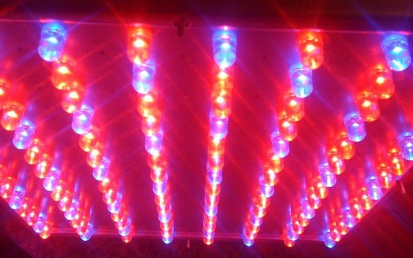 LED lights. Photo credit: John Abela