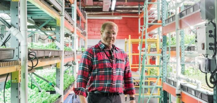 Jack Griffin of Metropolis Farms. Credit: Tricia Burrough