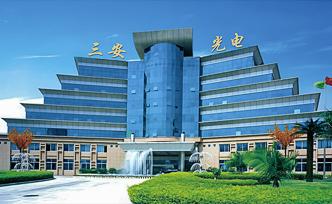 San'an Opto headquarters in Xiamen, China. (Photo courtesy of San'an Opto)