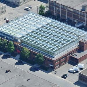 One of Lufa Farms' three rooftop greenhouse facilities in Montreal. (Photo courtesy Lufa Farms)