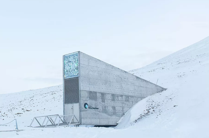 The Global Seed Vault -   Crop Trust