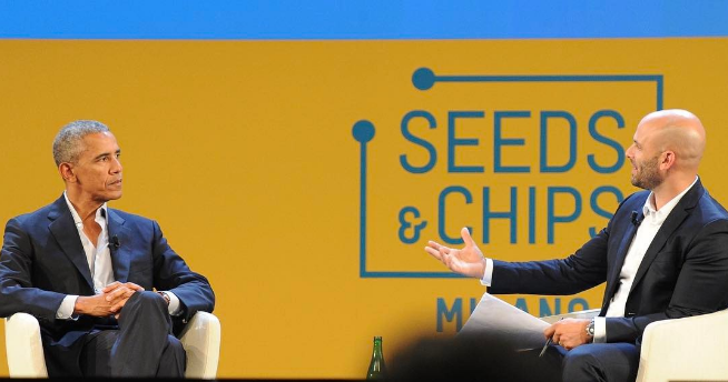 One last one from Seed&Chips. Incredible global response to President Obama's thoughts on the role of food and agriculture in battling climate change.   MAY 12