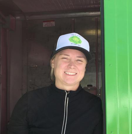 Kate Haverkampf, owner of Tassinong Farms  Courtesy of Tassinong Farms