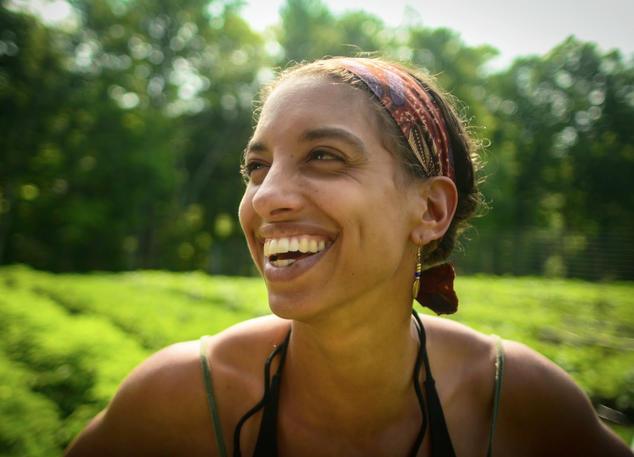Leah Penniman, co-director of Soul Fire Farm  Capers Rumph (circa 2014)