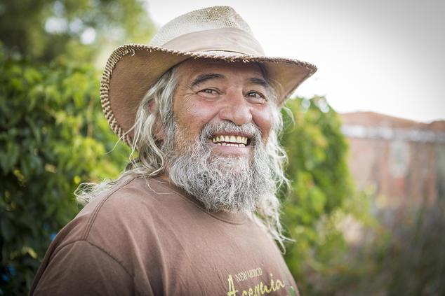 Don Bustos, organic farmer and owner of Santa Cruz Farm and Greenhouses  Gabriella Marks