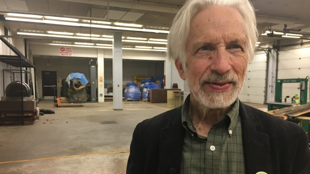 Bill Baylis, the president of Canada South Science City says there are all sorts of possibilities going on in the Forester hub. (Stacey Janzer/CBC)