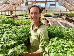 High tunnels have extended when Bozeman-MT-based Three Hearts Farm can offer produce, says Rachael Hicks.