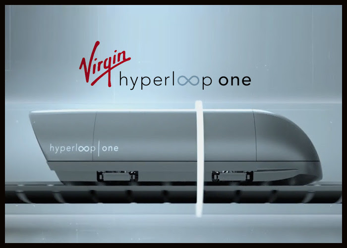 The new prototype pod unveiled by Virgin Hyperloop One.  Credit: Virgin Hyperloop One