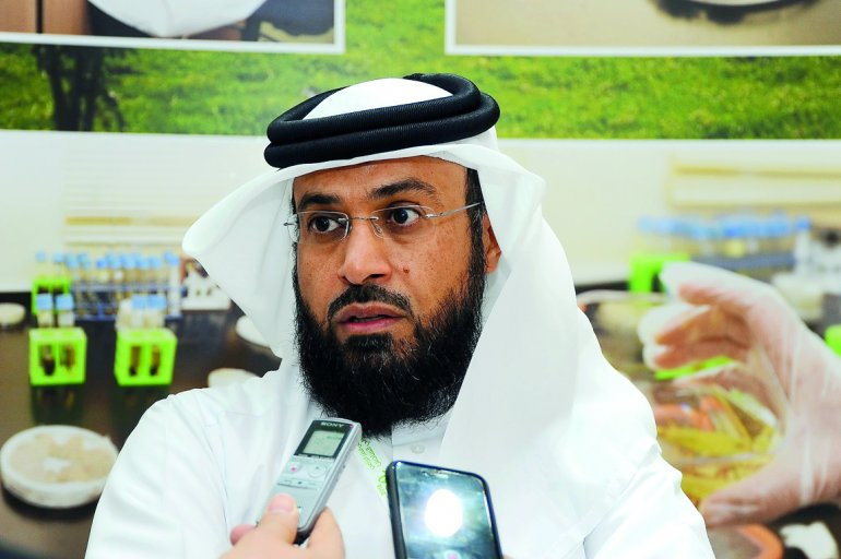 Massoud Jarallah Al-Marri, Head of Agricultural Research Department at the Ministry of Municipality and Environment.