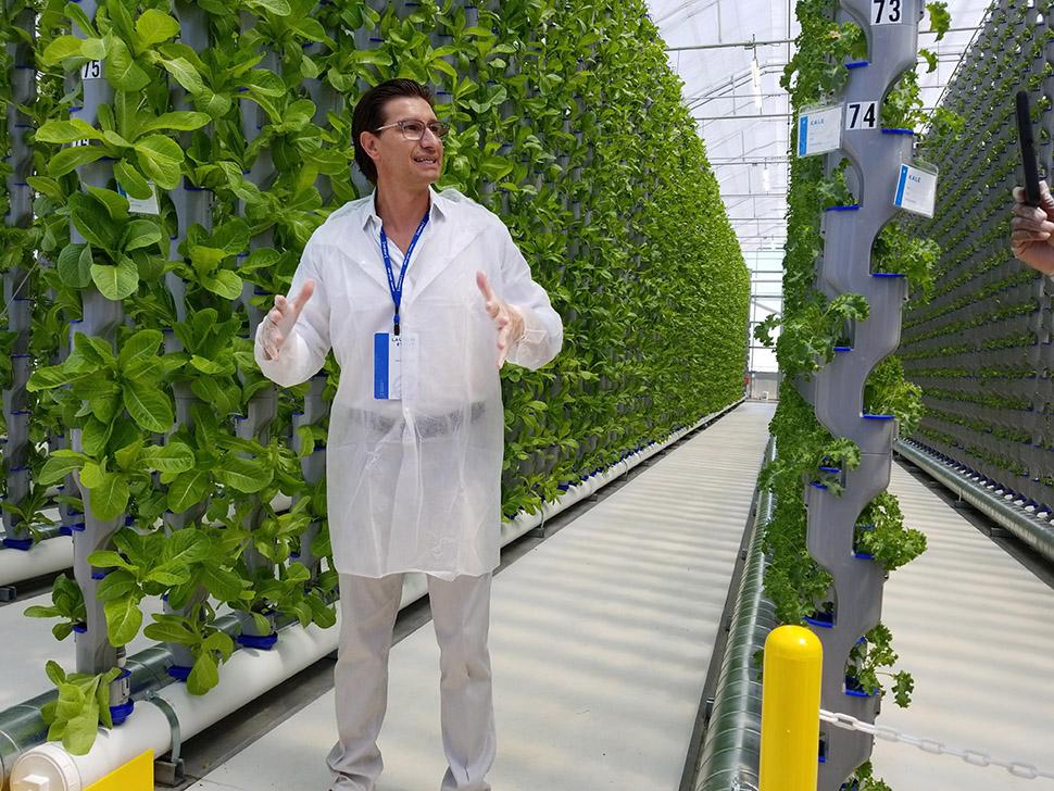Jaco Booyens, co-chair of Eden Green Technology. [Photo: Nicholas Sakelaris]