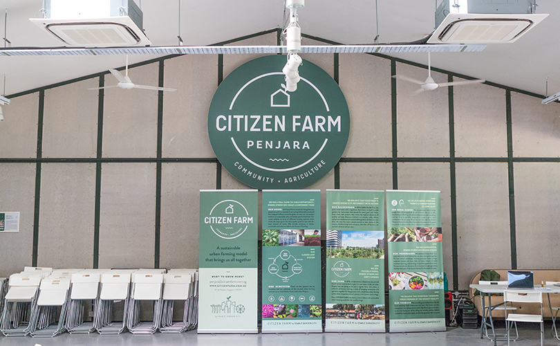 Citizen farm often hosts community engagement events to help the public better understand its work and vision