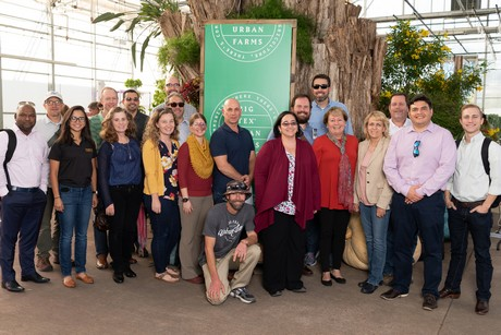 USDA Fresh Herbs Grant Planning Meeting held during the 2018 Texas State Fair. (photo Hort Americas)
