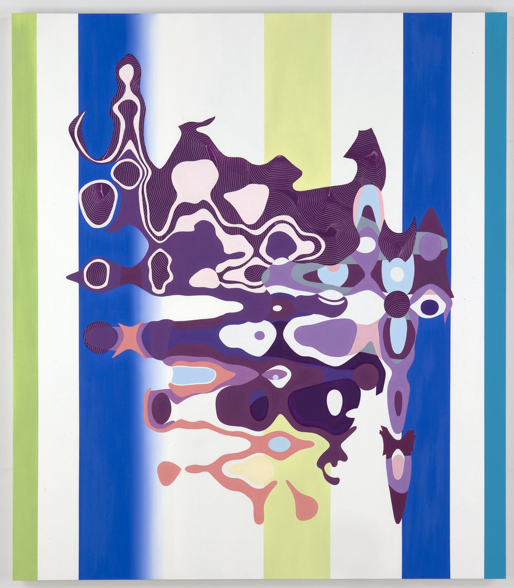 "ENERGETIC FATIGUE , 2009, Oil on linen, 48"" x 45"""