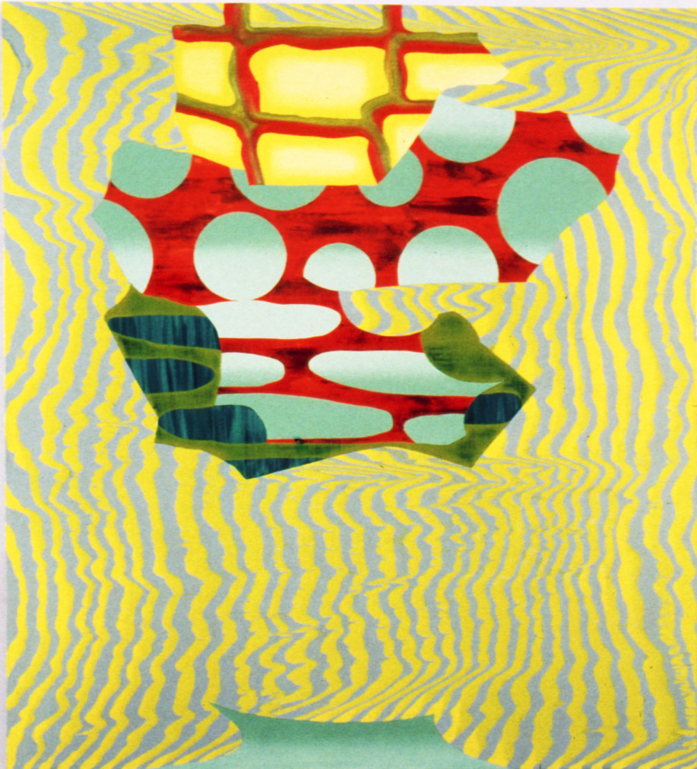 "THE PERFECTION OF UNCERTAINTY , 1995, Oil on linen, 48"" x 42"""