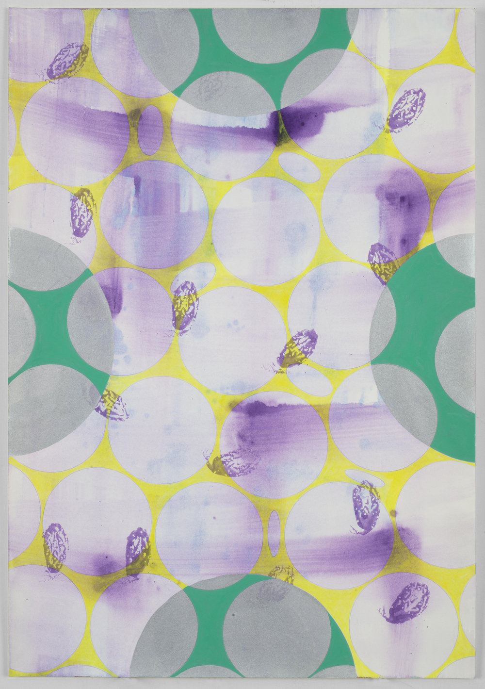 """Untitled,  2016, Gouache on paper, 20"""" x 14"""""""