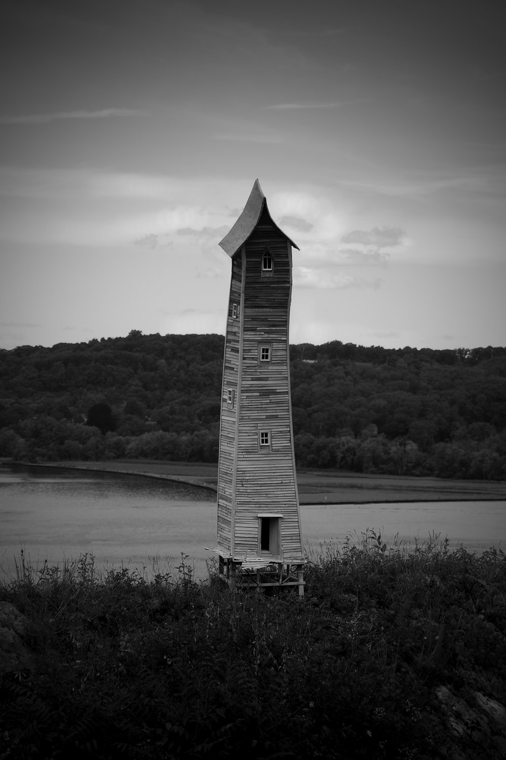 River Tower, Photograph/Sculpture, 2008