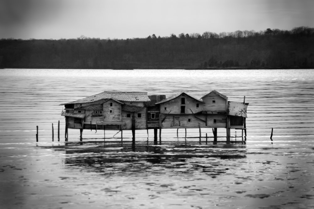 Mudflat House, Photograph/Sculpture, 2006