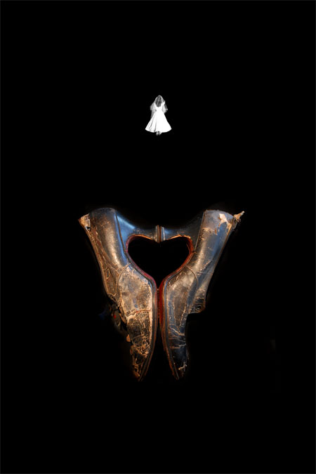 Wedding Shoes, Photograph/Sculpture, 2008