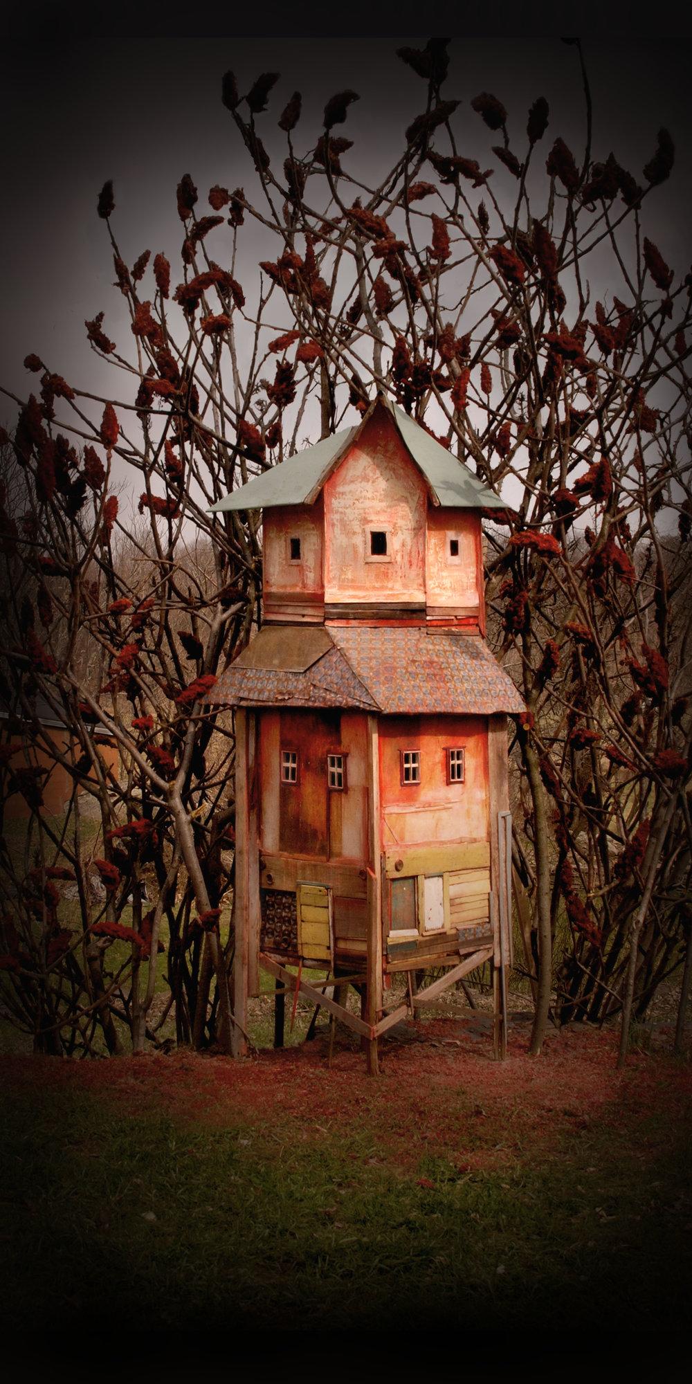 Amber Village, Photograph/Sculpture, 2008