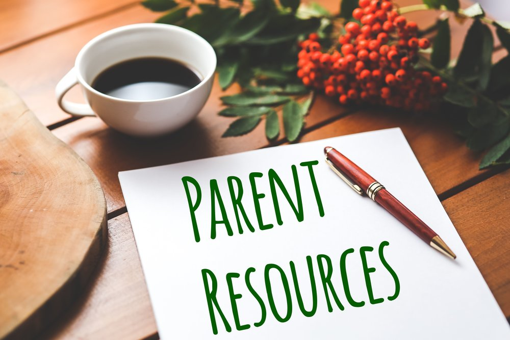 click here for the parent resources page