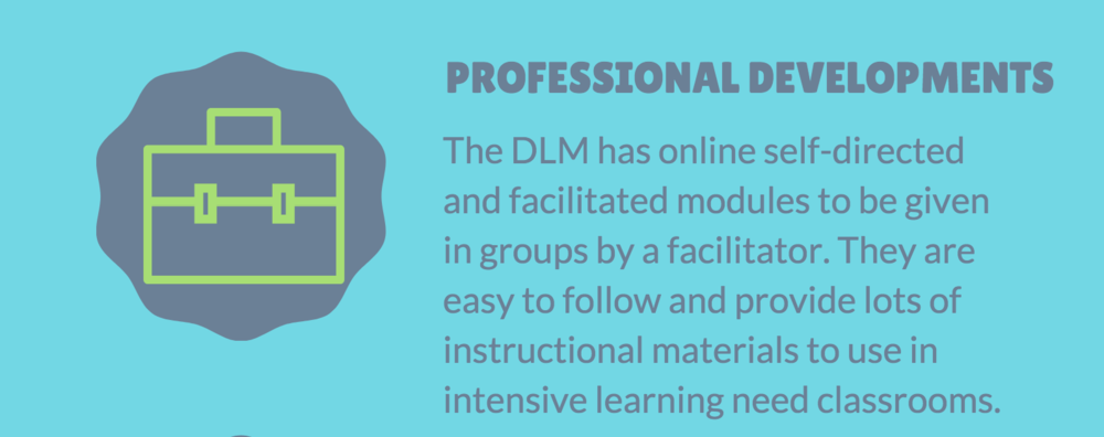 Dynamic Learning Maps: Navigating Instructional Resources and Materials  - The DLM has many rich instructional resources to help special education teams plan and implement communication, literacy and math instruction for students with complex communication needs and/or multiple disabilities.