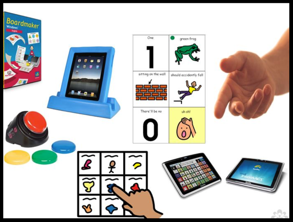 AUGMENTATIVE AND ALTERNATIVE COMMUNICATION (AAC) WEBSITE RESOURCES