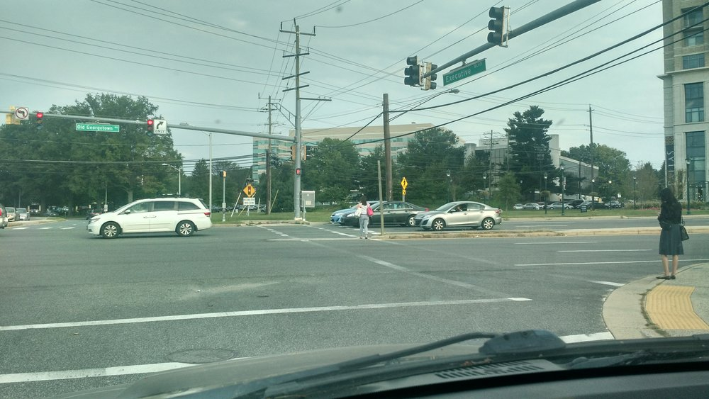 Old Georgetown Rd @ Executive Blvd