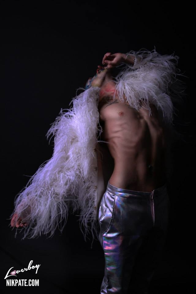 Hair for Vince Kidd for Loverboy Magazine. Nit Pate Photography